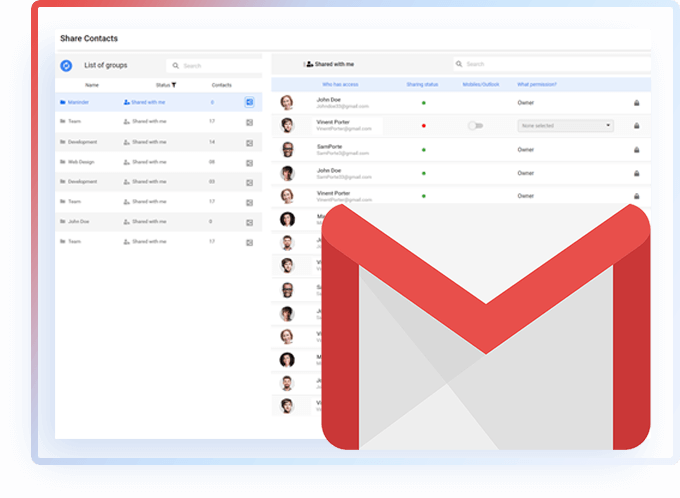 Share Gmail Contacts Image 1