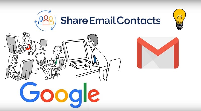 Shared Contacts for Gmail Video